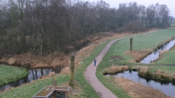 Lekker wegdronen vanuit natuurgebied Loetbos Zuid-Holland