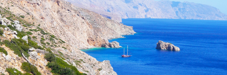 Griekse eiland Amorgos