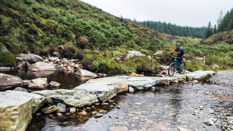Mountainbiken in Noord-Ierland