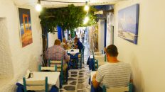 The Old Market in Naxos